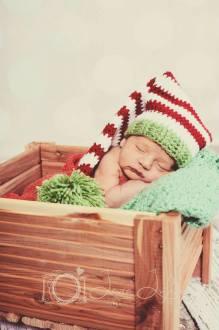 Christmas Elf Pom